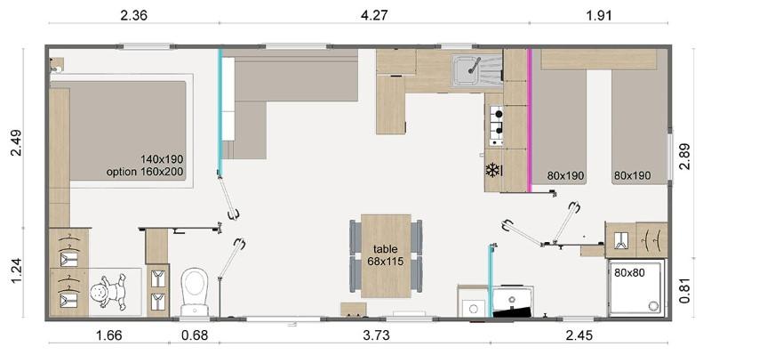 La Résidence Du Lac Implantation Lodge 872 Zoom 87
