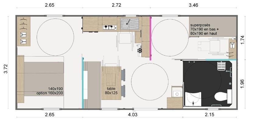 La Résidence Du Lac Implantation Lodge Pmr Zoom 90